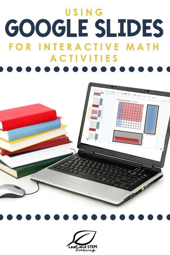 Using Google Slides for interactive math activities