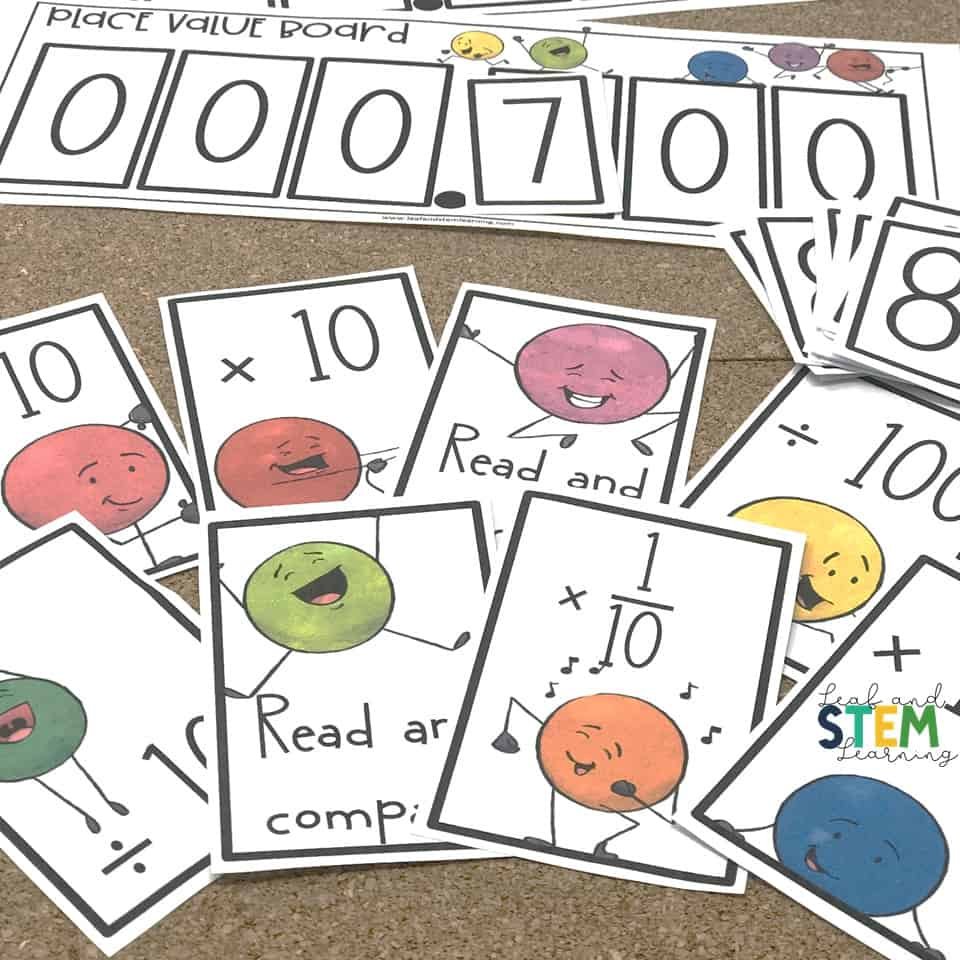 Free place value game